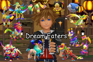 Dream Eater Pack 1 [Public Download] by crystalwingskeyblade