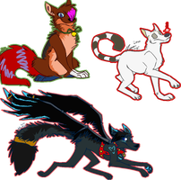 WinterAdoptables:: Batch 01 by SimplySassfras