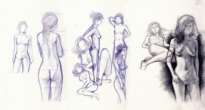 2011.07.31 - sketches by hentai-kitty