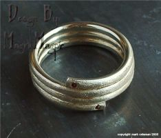 -Snake ring 2- by magickmagpie