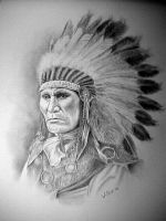 Louie son of Sitting Bull by willow1