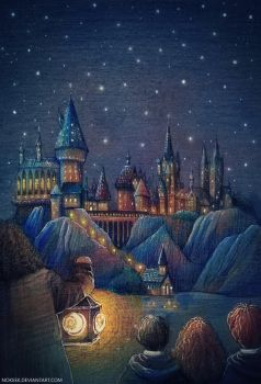 Welcome to Hogwarts by nokeek