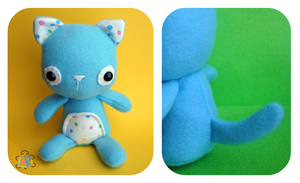 BabyKitty Plush by LoRi-La-Tortuga