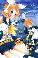 Vocaloid - Trick and Treat by Akino-K
