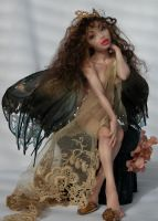 faery sculpture by polymer-people