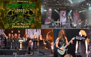 Epica at Summer Breeze by thornburgh