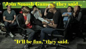 Join Smosh Games they said by RedPandaNinja