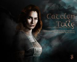 Mother of the king Lady Catelyn Tully by JohnnyClark