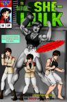 Emerald Fury 16 Cover by OrionPax09