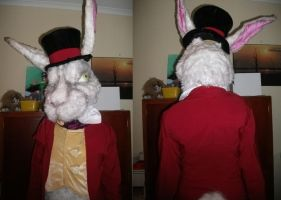 White Rabbit Fursuit 2 by Crazy-Maizy