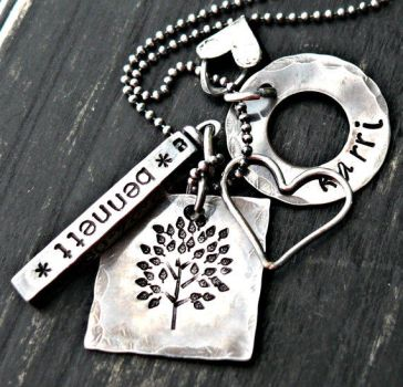 large mixed sterling silver personalized by yourcharmedlife