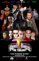 Power Rangers Movie Trilogy Poster by BlueWolfRanger95