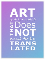 Art Is A Language by awhite92