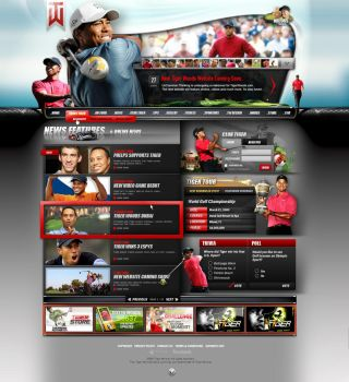 - Tiger Woods Concept 03 - by loveinjected
