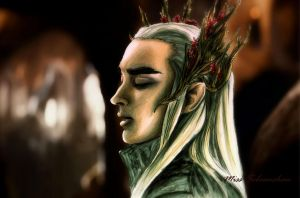 Thranduil  The ElvenKing by MissSebasuchan