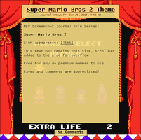 Super Mario Bros 2 Journal Skin by Retro-Specs