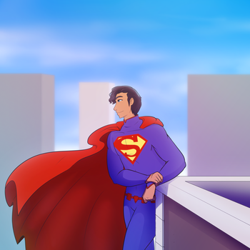 Superman by Gatodae
