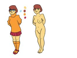 Velma Undressed by Moremorphing
