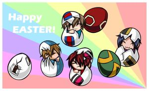POT easter eggs by m4kimaki