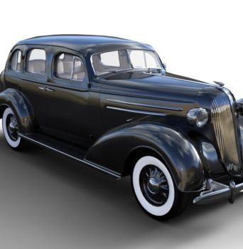 1936 AM SedanBody Black  by JGreenlees