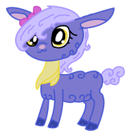 LPS From Toys to Toons 2- Pansy by LittleSnowyOwl