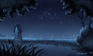Kampung Nightscape 2 by bramLeech