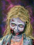 Little Girl Zombie - The Walking Dead by Shawn-Conn