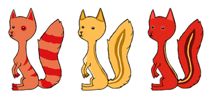 Squirrel Point Adoptables by Chrysanthe-mums