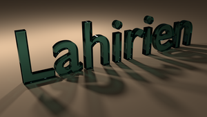 Blender Practice: Username by Lahirien