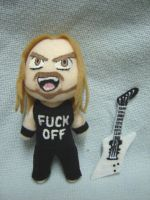 James Hetfield Plushie by CuteGio
