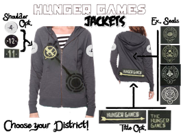 Hunger Games: Jacket Ordering Template by SikkPup