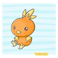 Torchic by atomicspacemonkey