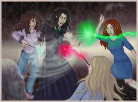 Fighting Bella by Loony-Lucy