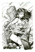 Wonder Woman Final David Finch and Richard Friend by Blasterkid