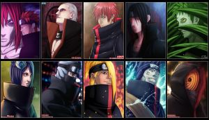 Akatsuki -Collab GFC- by Law67