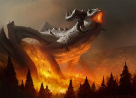 Dragon fire by alexson1