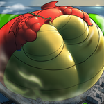 Bigger Gigantic Jake Long by RickyDemont