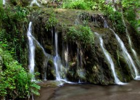 small waterfall by Dom410