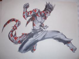 Demon Kisame by Authentic-cheese