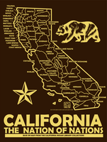 California the Nation of Nations by SouthParkTaoist