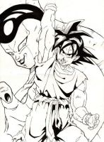 Goku y Freezer by tyller16