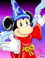 Sorcerer Mickey by RoccoBertucci