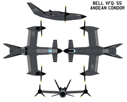 bell VFQ-55 Andean Condor by bagera3005
