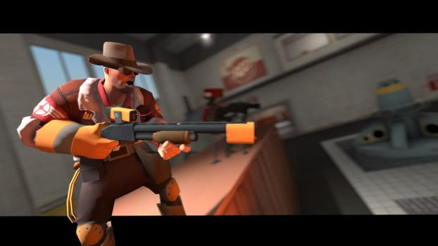 (SFM) They Call Him the Wrangler by netherpirate