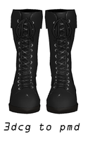 MMD- Boots -DL by MMDFakewings18