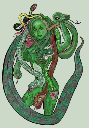 Medusa - Colored Version