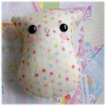 Lavender Scented Polka Plushie by Keito-San