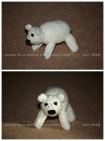 The Crocheted: Polar Bear by janey-in-a-bottle