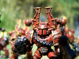 FOR THE BLOOD GOD by pyramidrus