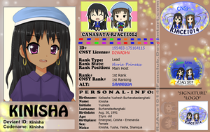 CNSY ID: Kinisha by RJAce1014